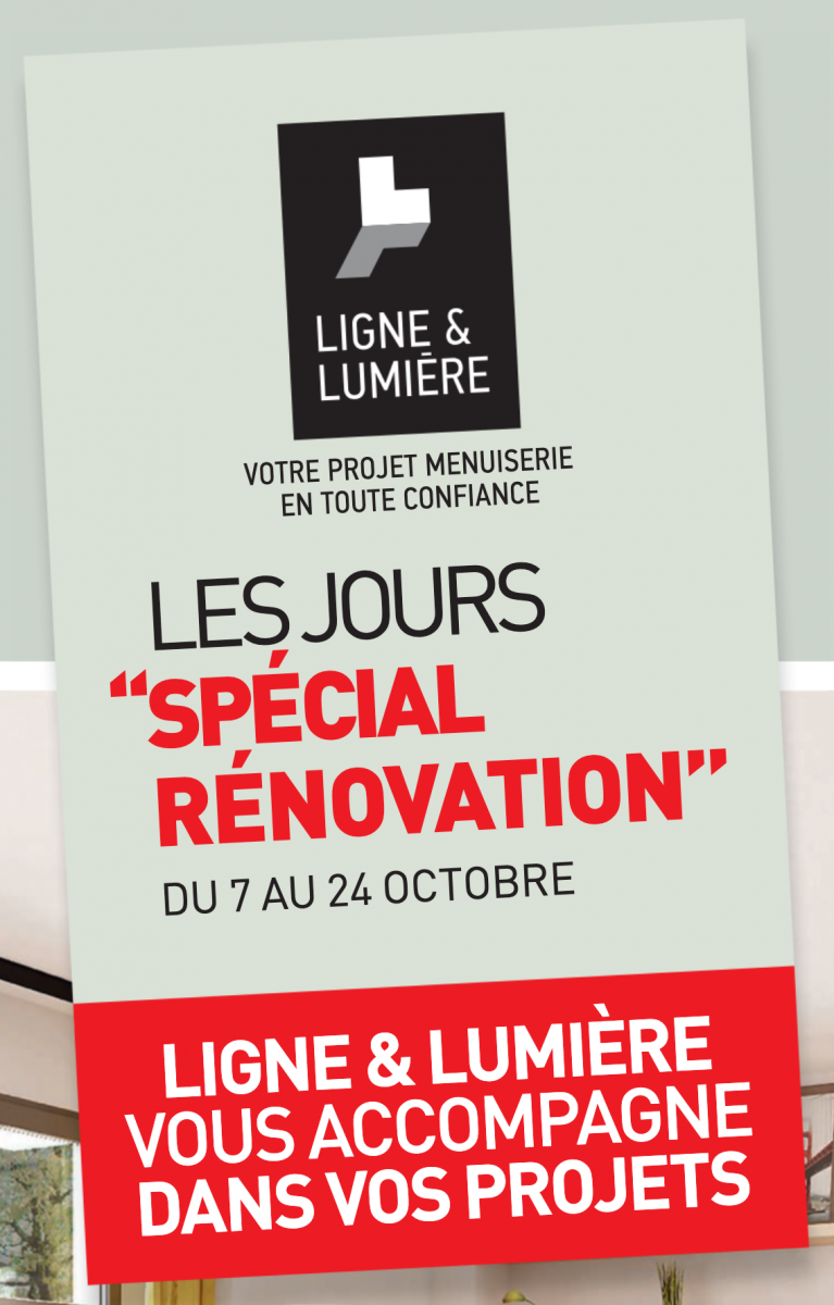 Promotion menuiserie